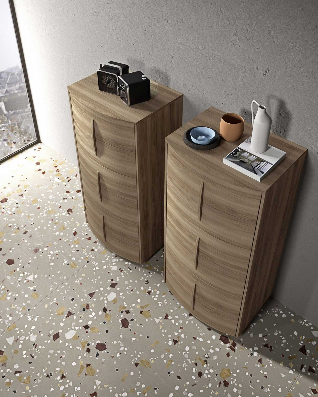 modern chests of drawers with a standard finish for your bedroom
