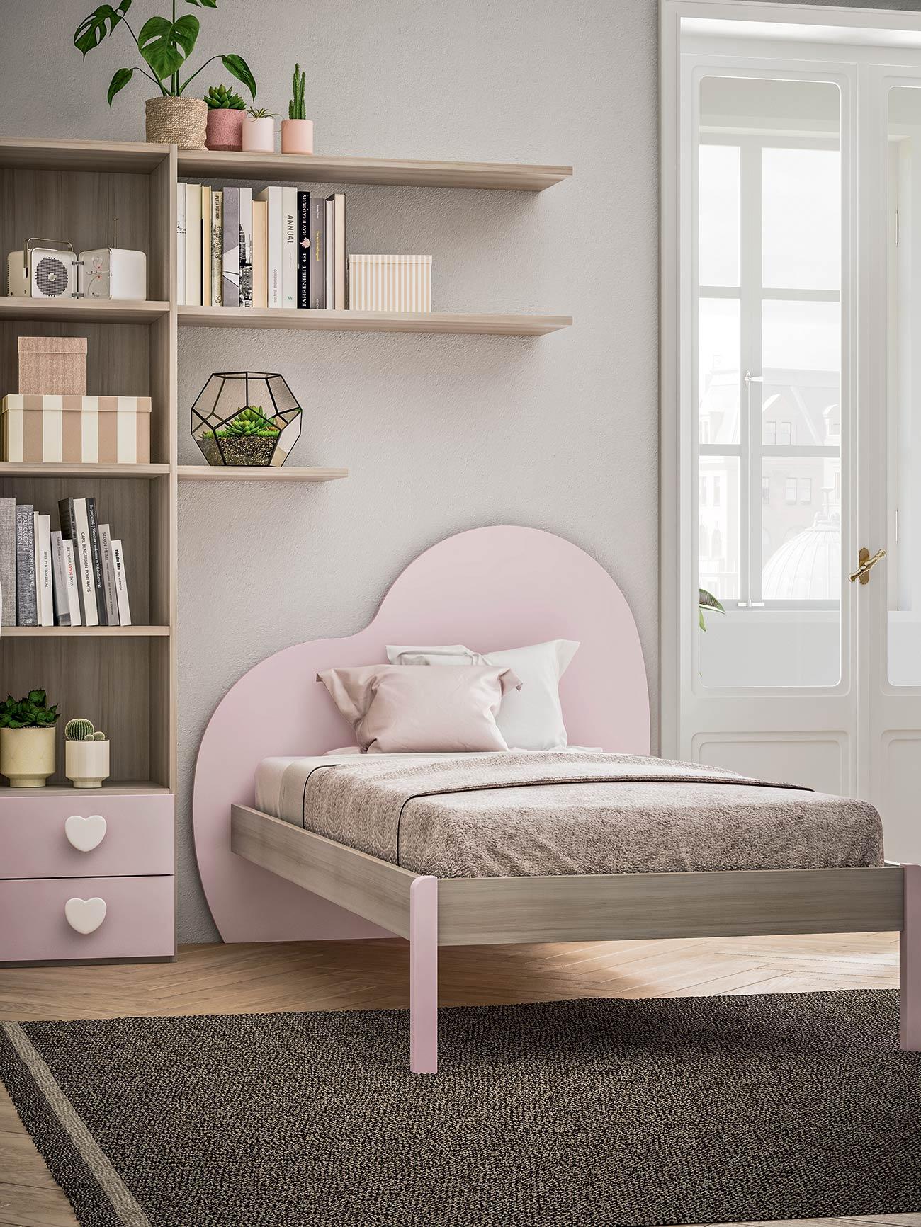 Testata Letto Cameretta.Camerette Con Letti A Terra Mab Home Furniture