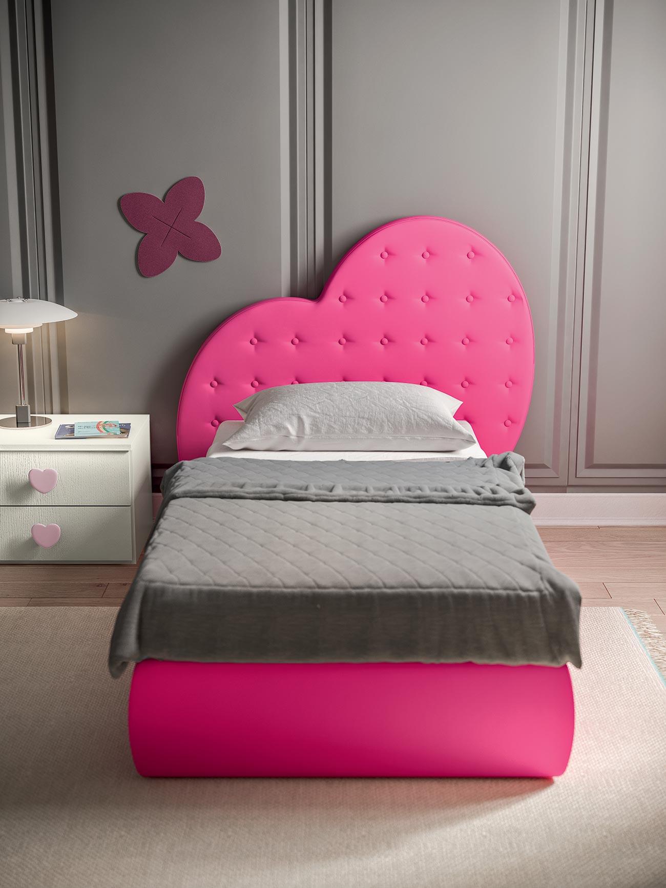 Letto A Cuore.Camerette Con Letti A Terra Mab Home Furniture