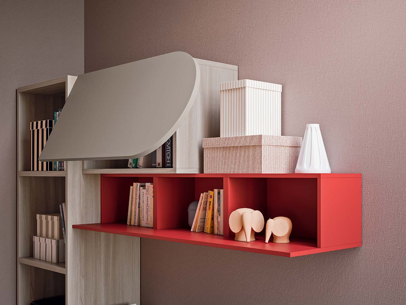 wall unit combinations for children