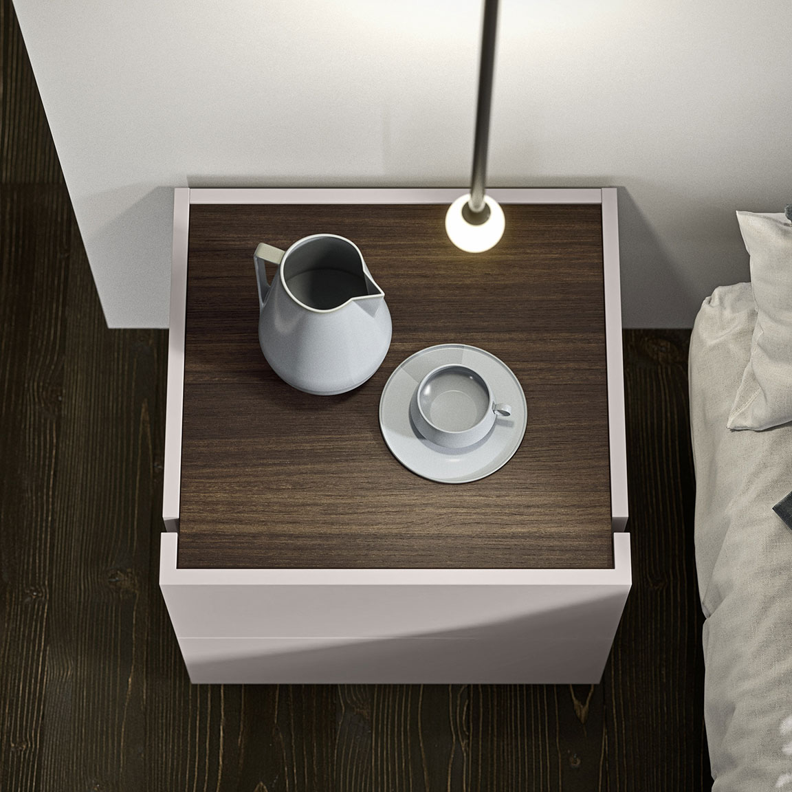 contemporary style charme bedsides, drawer units and chests 1