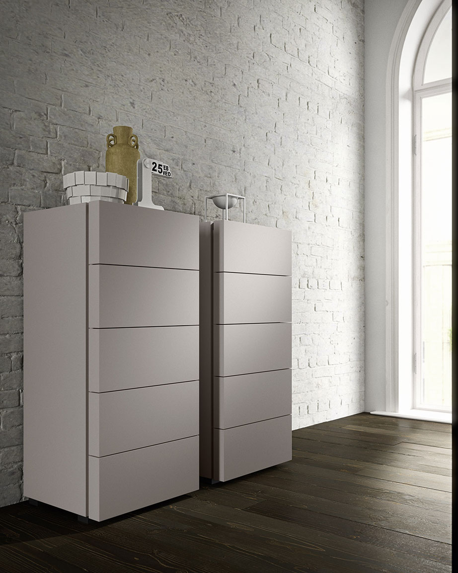 contemporary style charme bedsides, drawer units and chests 2
