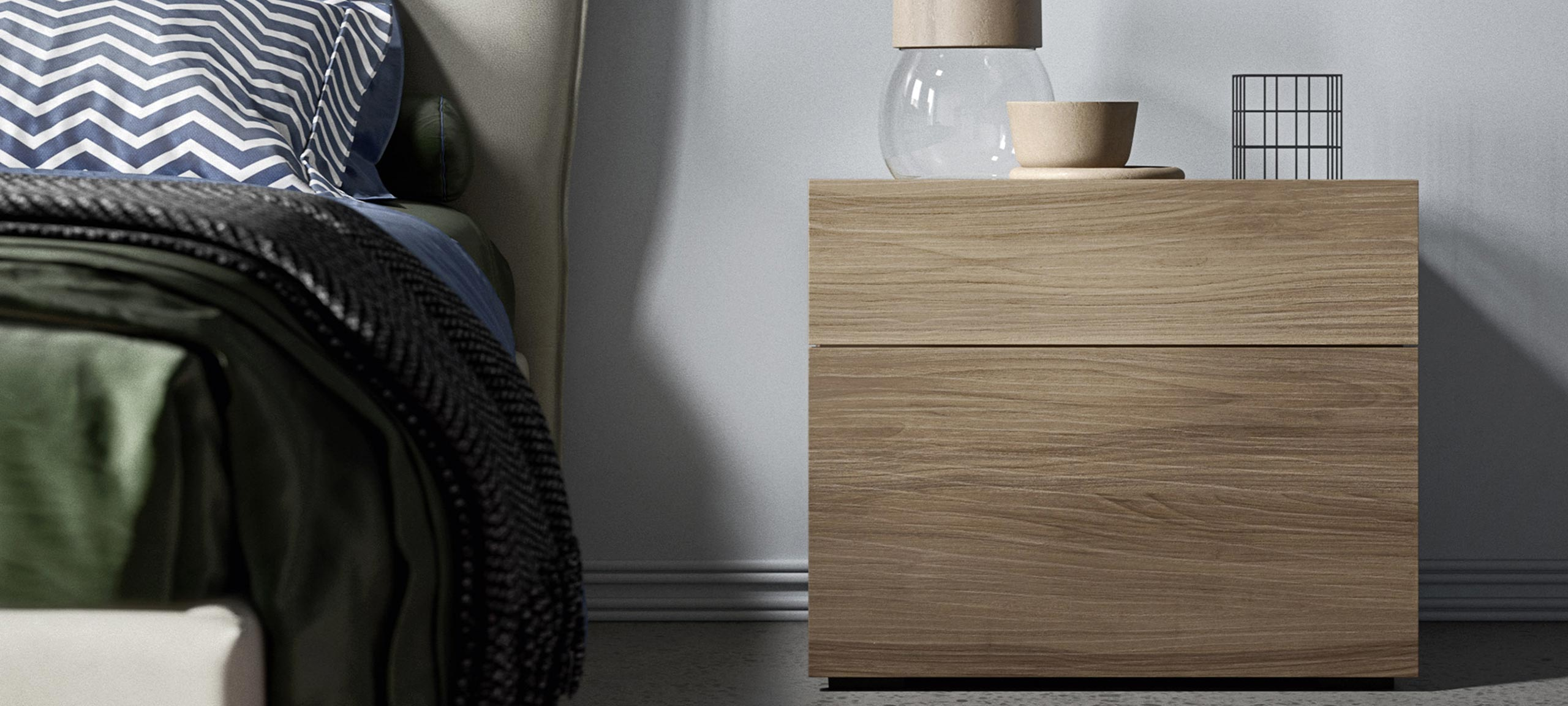 contemporary-style cube bedsides, drawer units and chests 2