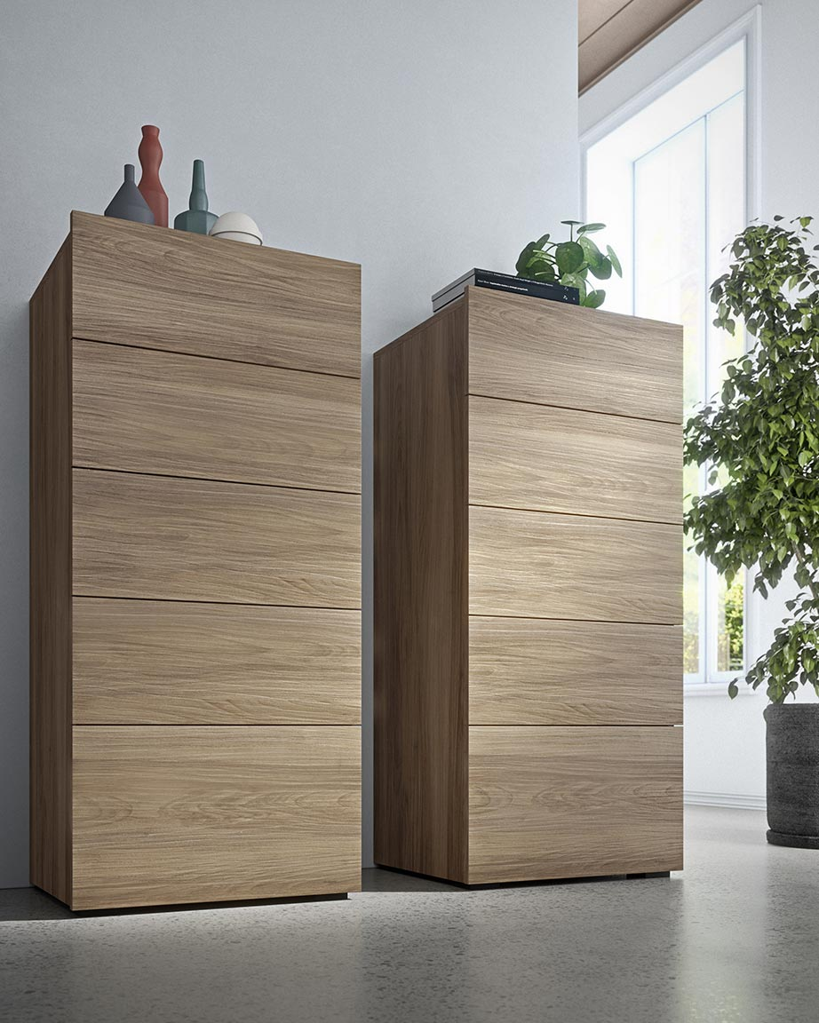 contemporary-style cube bedsides, drawer units and chests 3
