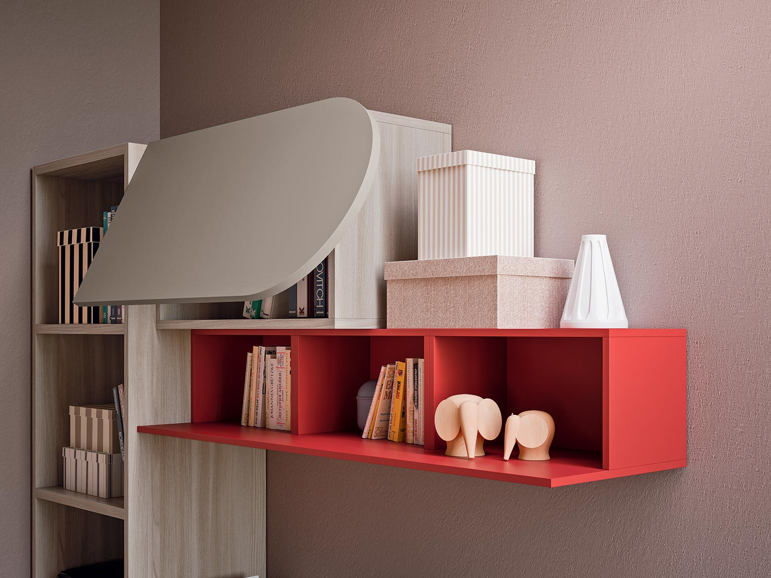 accessories wall units for children's bedroom 1