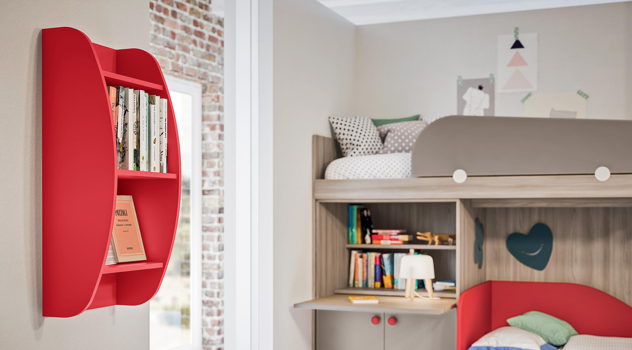 accessories wall units for children's bedroom 4