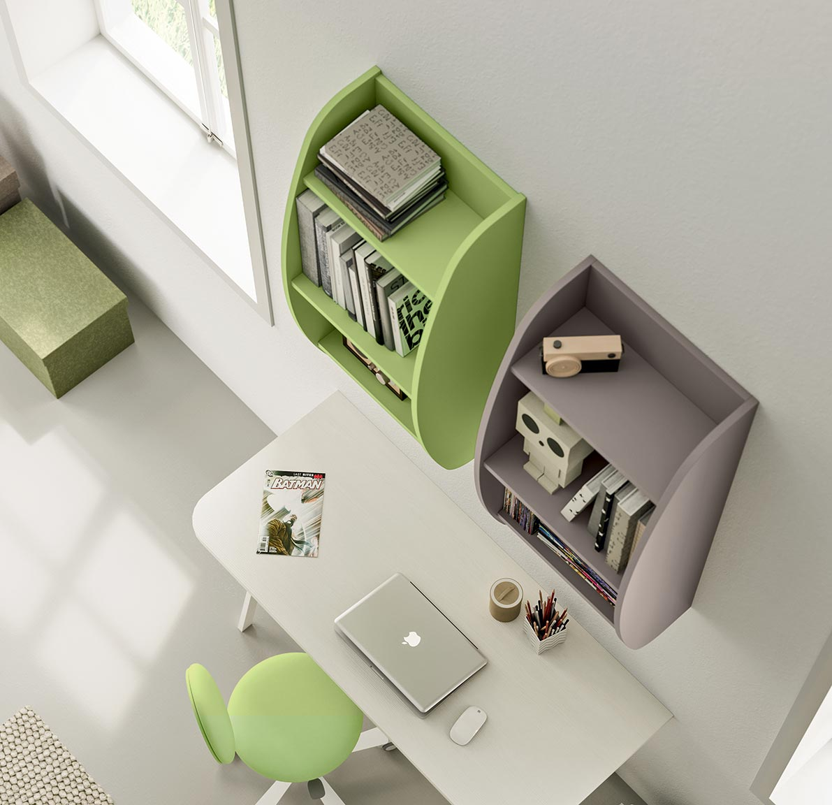 accessories wall units for children's bedroom 6