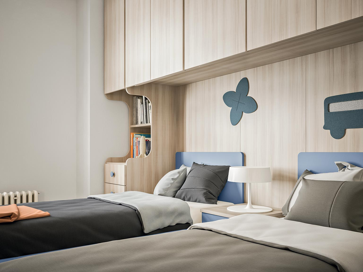 accessories wall units for children's bedroom 9