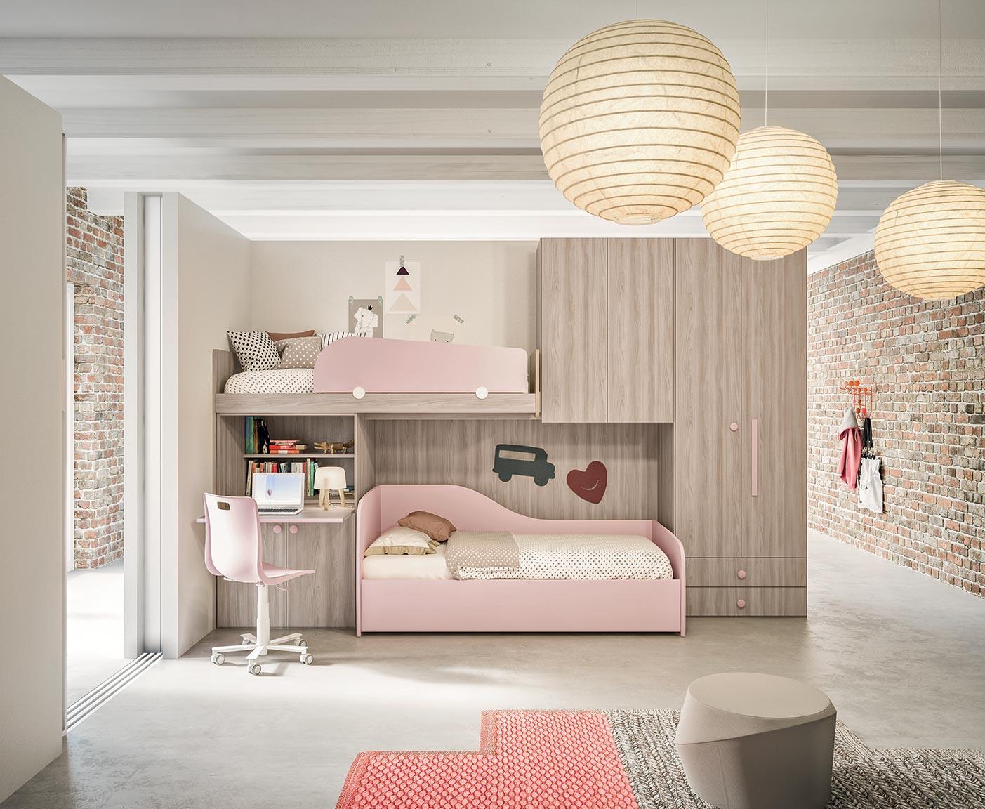 Camerette A Soppalco.Camerette Con Letti A Soppalco Mab Home Furniture