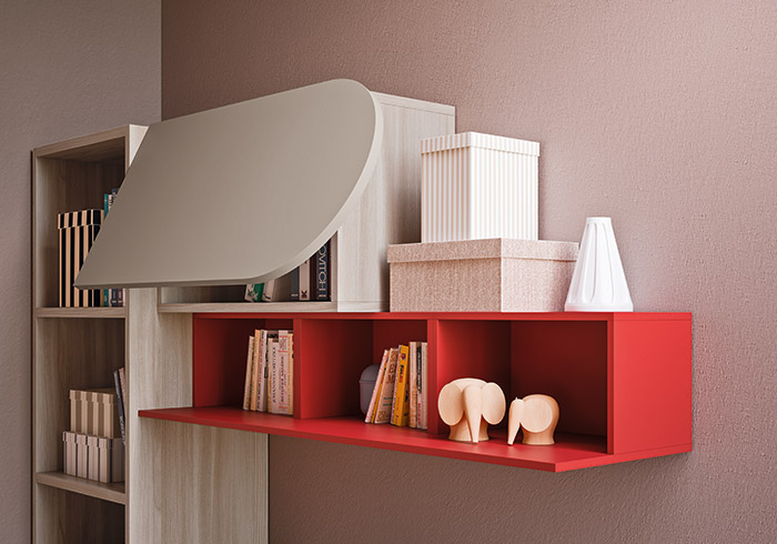 accessories wall units for children's bedroom