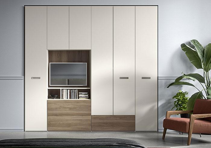 Armadio Guardaroba Per Soggiorno.Armadi Battenti E Scorrevoli Produzione Made In Italy Mab Home Furniture