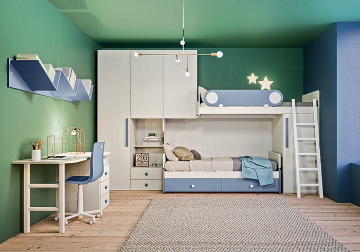 children's bedrooms with bunk beds and convertibles